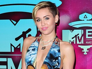 MTV European Music Awards: Miley Cyrus