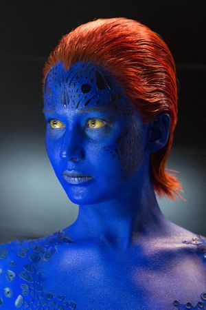 Jennifer Lawrence as Mystique in 'X-Men: Days of Future Past'