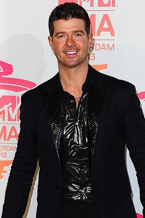 MTV European Music Awards: Robin Thicke