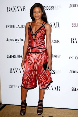 Harpers Bazaar 'Woman of the Year' awards 2013, London, Britain - 05 Nov 2013 Naomie Harris