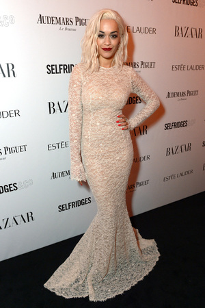 Harpers Bazaar 'Woman of the Year' awards 2013, London, Britain - 05 Nov 2013 Rita Ora