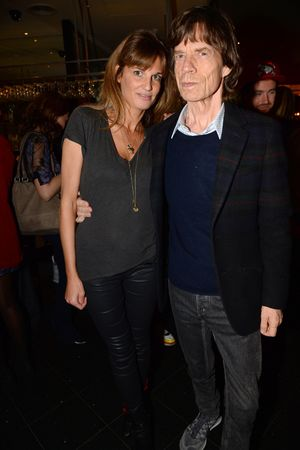Mick Jagger and Jemima Khan, 'Unmanned: America's Drone Wars' documentary screening, London