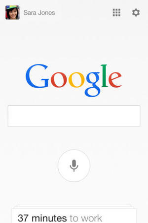 Google Now screenshot