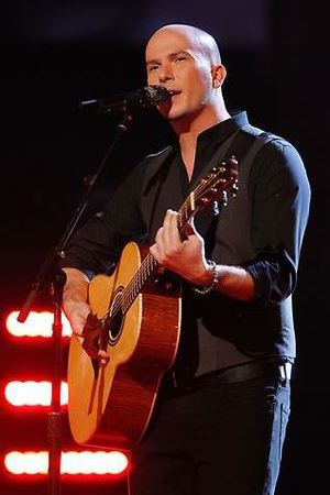 Josh Logan performs on The Voice live shows, part 2