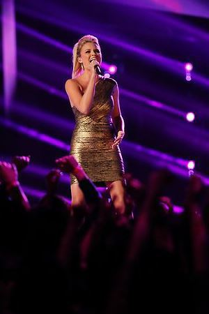 Olivia Henken performs on The Voice live shows, part 2