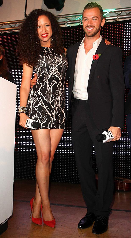 Natalie Gumede and Artem Chigvinstev