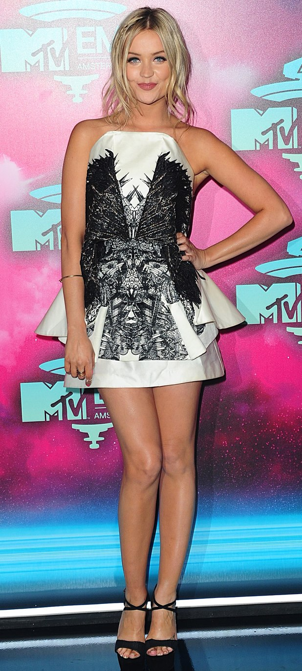 MTV European Music Awards: Laura Whitmore