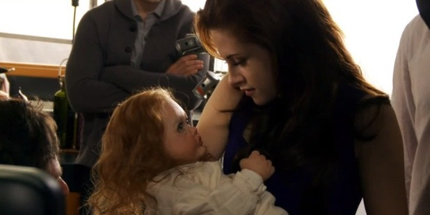 'Chuckesme' in The Twilight Saga: Breaking Dawn - Part 2