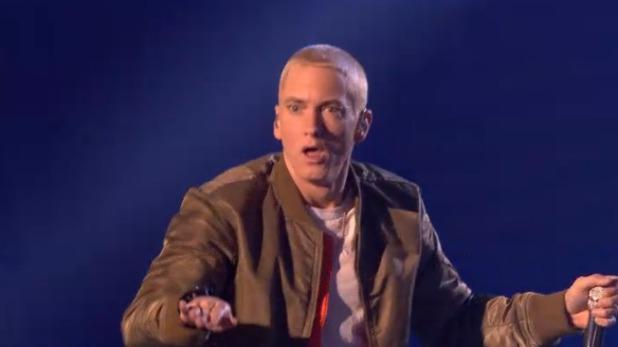 Eminem at the MTV EMAs