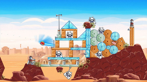 Angry Birds Star Wars PS4 screenshot