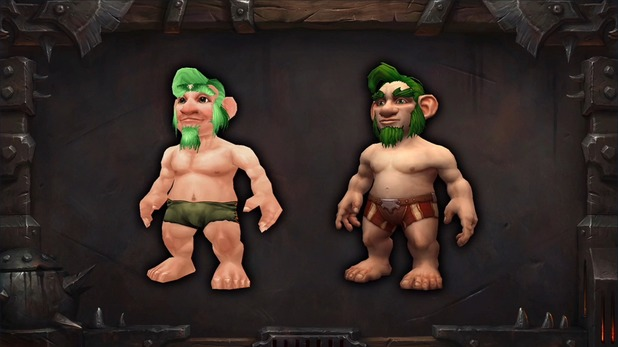 World of Warcraft: Warlords of Draenor updated character models (Gnomes)