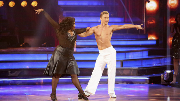 Week 8 of 'Dancing With The Stars' Fall 2013: Amber Riley and Derek Hough