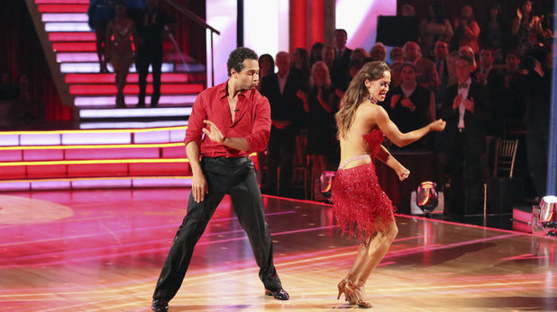 Week 8 of 'Dancing With The Stars' Fall 2013: Corbin Bleu and Karina Smirnoff