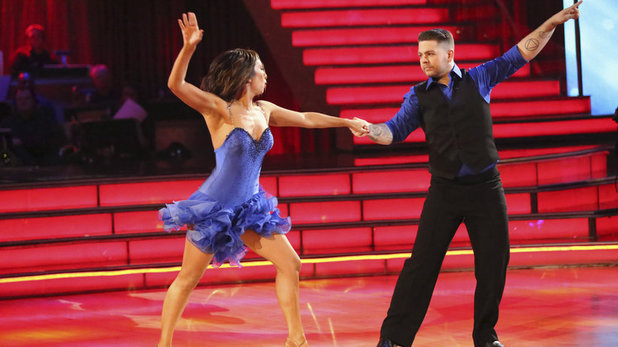 Week 8 of 'Dancing With The Stars' Fall 2013: Jack Osbourne and Cheryl Burke