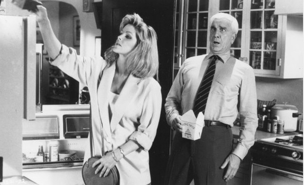 The Naked Gun's giant condom sex scene