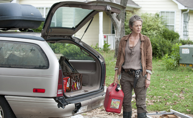 Carol (Melissa Suzanne McBride) in The Walking Dead Season 4, Episode 4: 'Indifference'