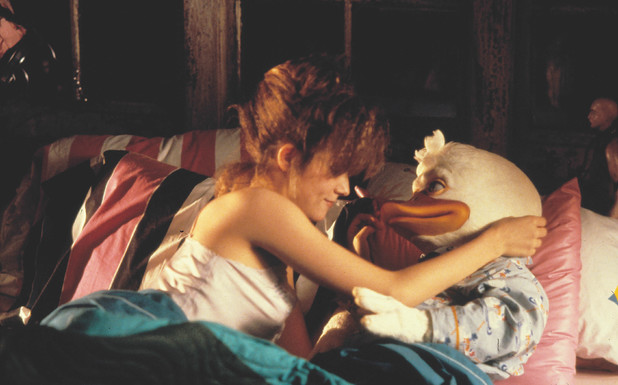 Howard The Duck (Howard A New Breed Of Hero) and Lea Thompson