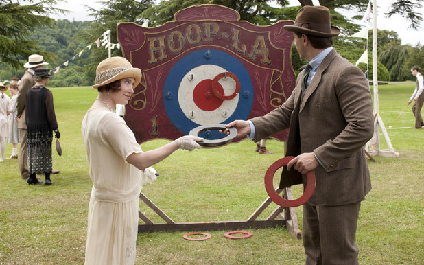Daisy Lewis as Sarah Bunting and Allen Leech as Tom Branson in Downton Abbey episode 8
