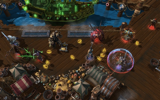 Heroes of the Storm's Blackheart's Bay stage
