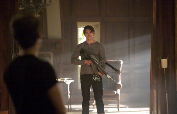 Steven R. McQueen as Jeremy in 'The Vampire Diaries' S05E06: 'Handle With Care'