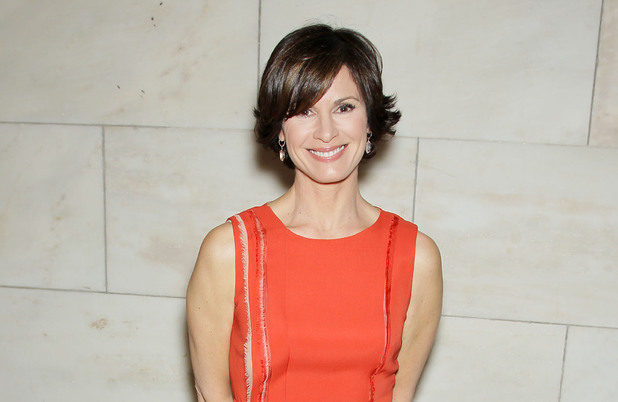 Elizabeth Vargas at 'The Great Gatsby' film luncheon, New York