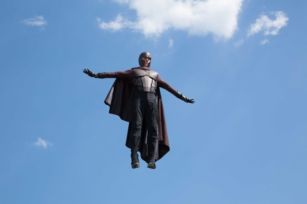 Magneto flying
