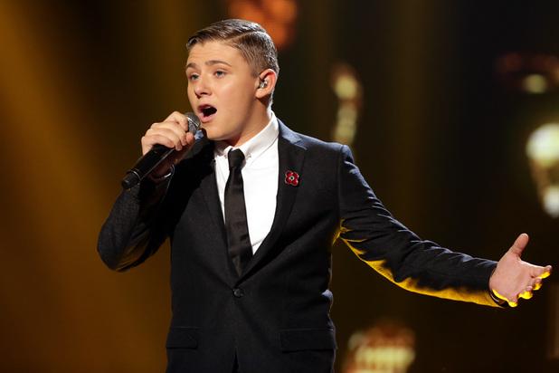Nicholas McDonald performs 'Dream A Little Dream'.