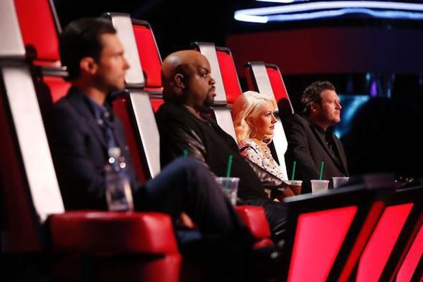 The judges on The Voice live shows, part 2