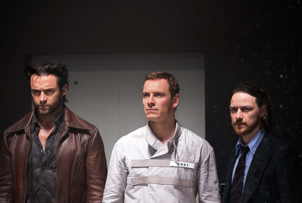 Hugh Jackman Michael Fassbender James McAvoy