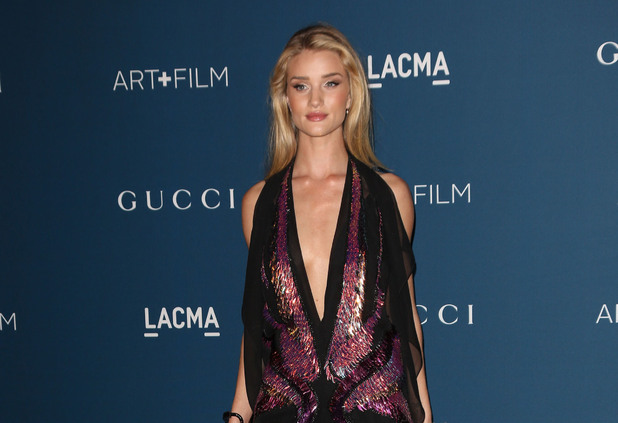 Rosie Huntington-Whiteley LACMA: Art and Film Gala, Los Angeles, America - 02 Nov 2013
