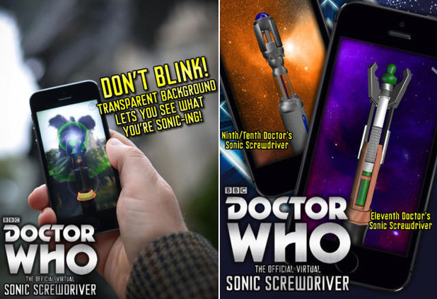 Doctor Who Sonic Screwdriver app