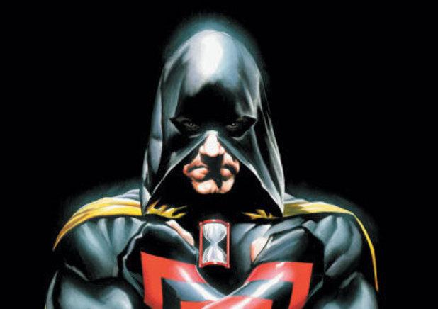 Hourman (Rick Tyler) artwork for the cover of JSA #79
