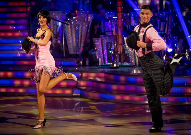 Abbey and Aljaz dance the Charleston to 'Cabaret'