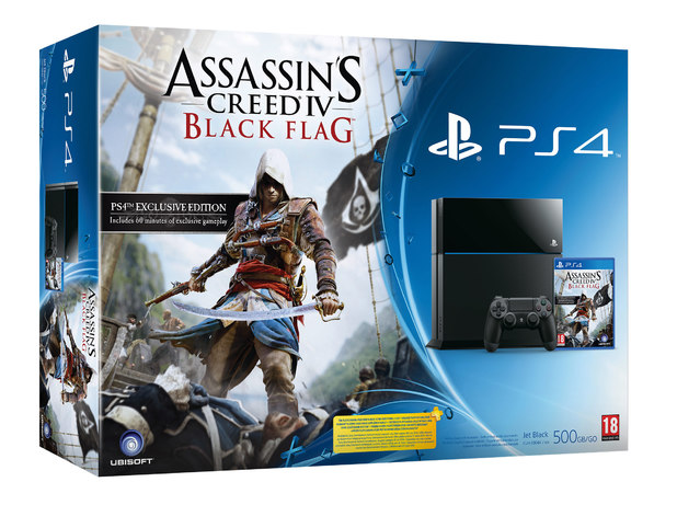 Assassin's Creed: Black Flag packaging