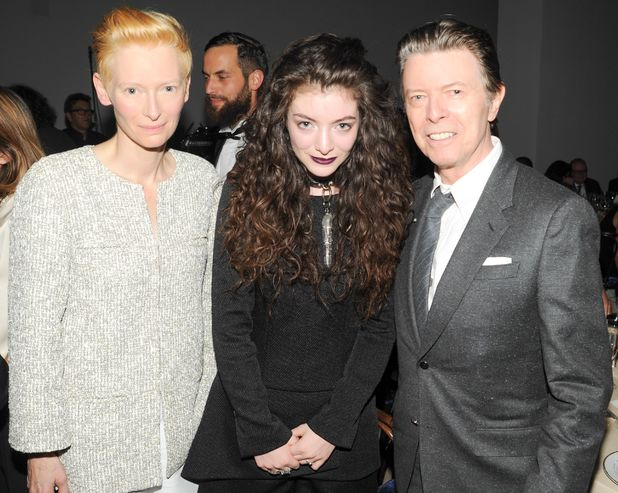 David Bowie with Tilda Swinton and Lorde