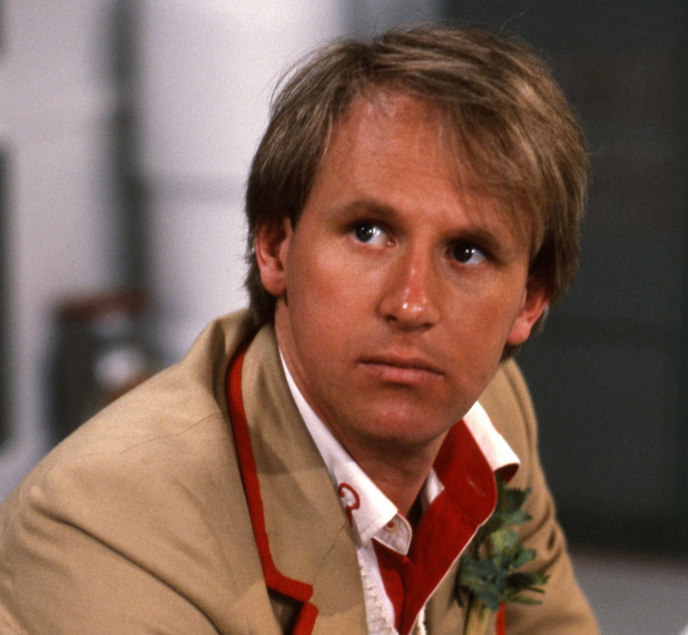 Peter Davison in 'Doctor Who'