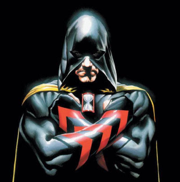 Hourman (Rick Tyler) artwork for the cover of JSA #79