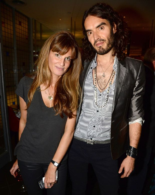 Russell Brand and Jemima Khan, 'Unmanned: America's Drone Wars' documentary screening, London
