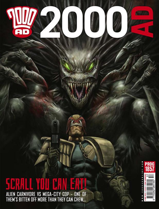 '2000 AD' Prog 1857 cover