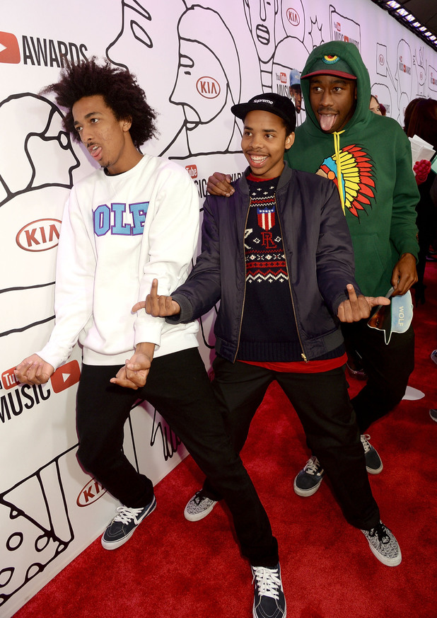 Taco Bennett, Earl Sweatshirt, and Tyler The Creator