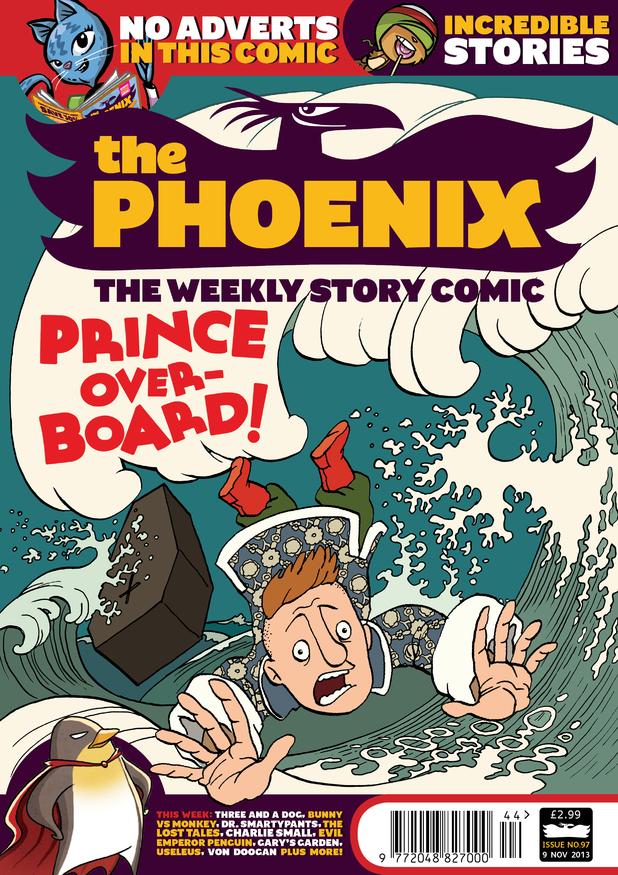 'The Phoenix' #97 cover