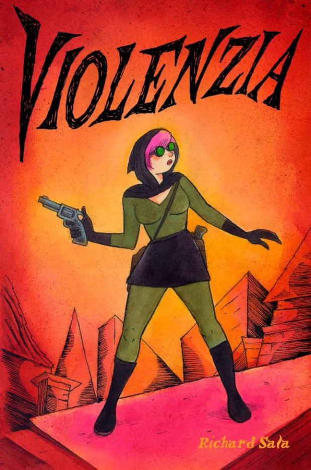 Richard Sala's 'Violenzia'