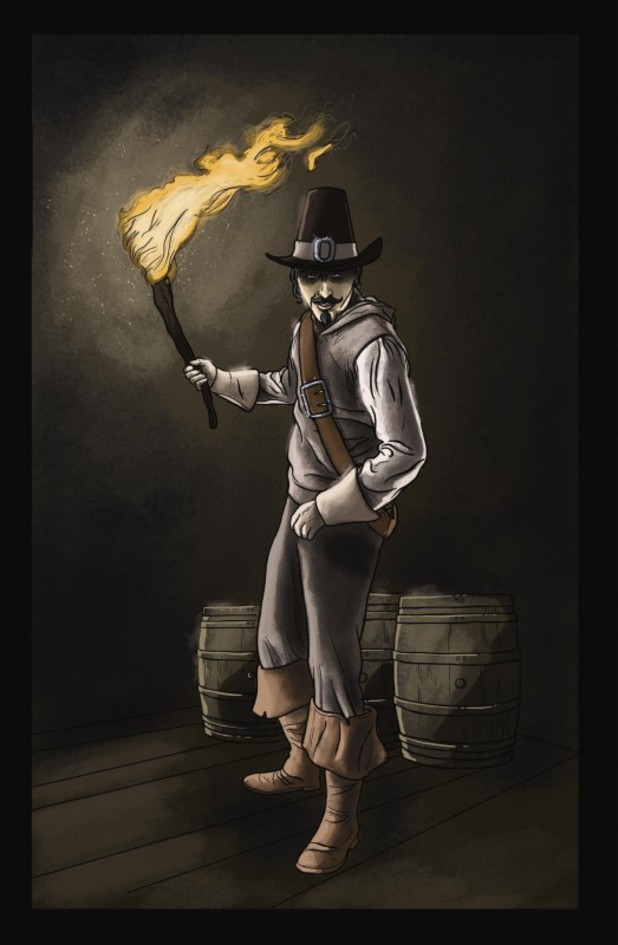 Eco Comics' Guy Fawkes