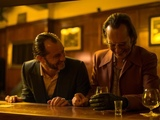 Jude Law and Richard E Grant in 'Dom Hemingway'