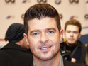 Despite a barrage of abusive questions, the 'Blurred Lines' singer went ahead with Q&A.