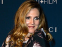 "Drew Barrymore says she feels ""blessed"" to be pregnant with her second child."