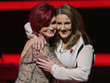 Watch a video of Sam Bailey visiting Sharon Osbourne's extravagant home.