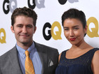 The Glee actor also recalls his first meeting with fiancée Renee Puente.