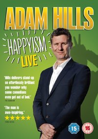Adam Hills: Happyism DVD cover