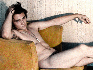 Shiloh Fernandez poses for Tyler Shields